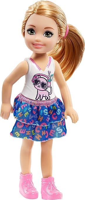 Amazon.es: Barbie Chelsea Muñeca Rubia, Juguetes +3 Años (Mattel FRL82): Juguetes y juegos
