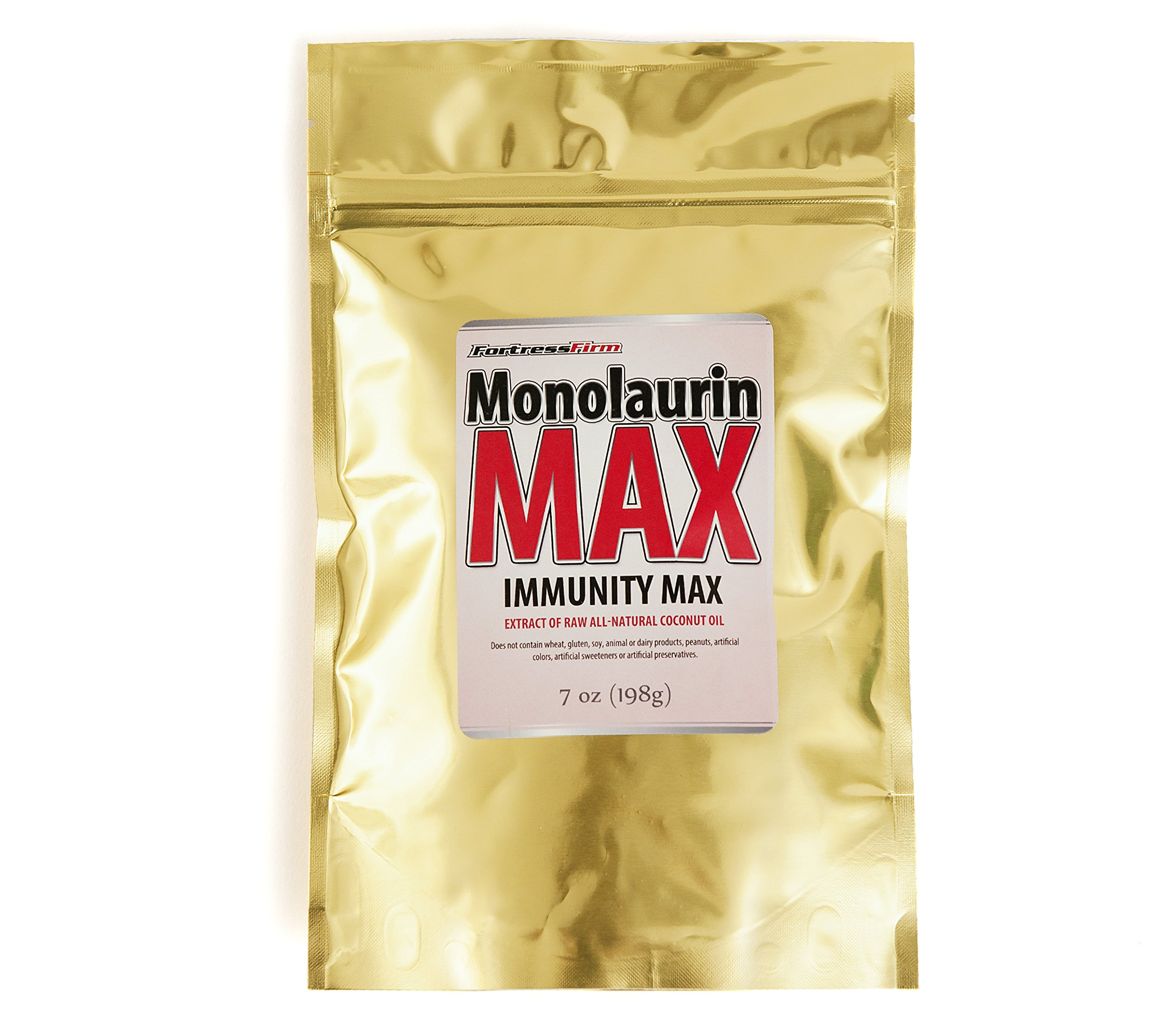 Monolaurin Max - Raw Coconut Oil Supplements All-Natural Immune System Booster King of the Immune System Boosters & Monolaurin Pellets Better Quality & Priced Than Monolaurin 1200mg & Monolaurin 600mg