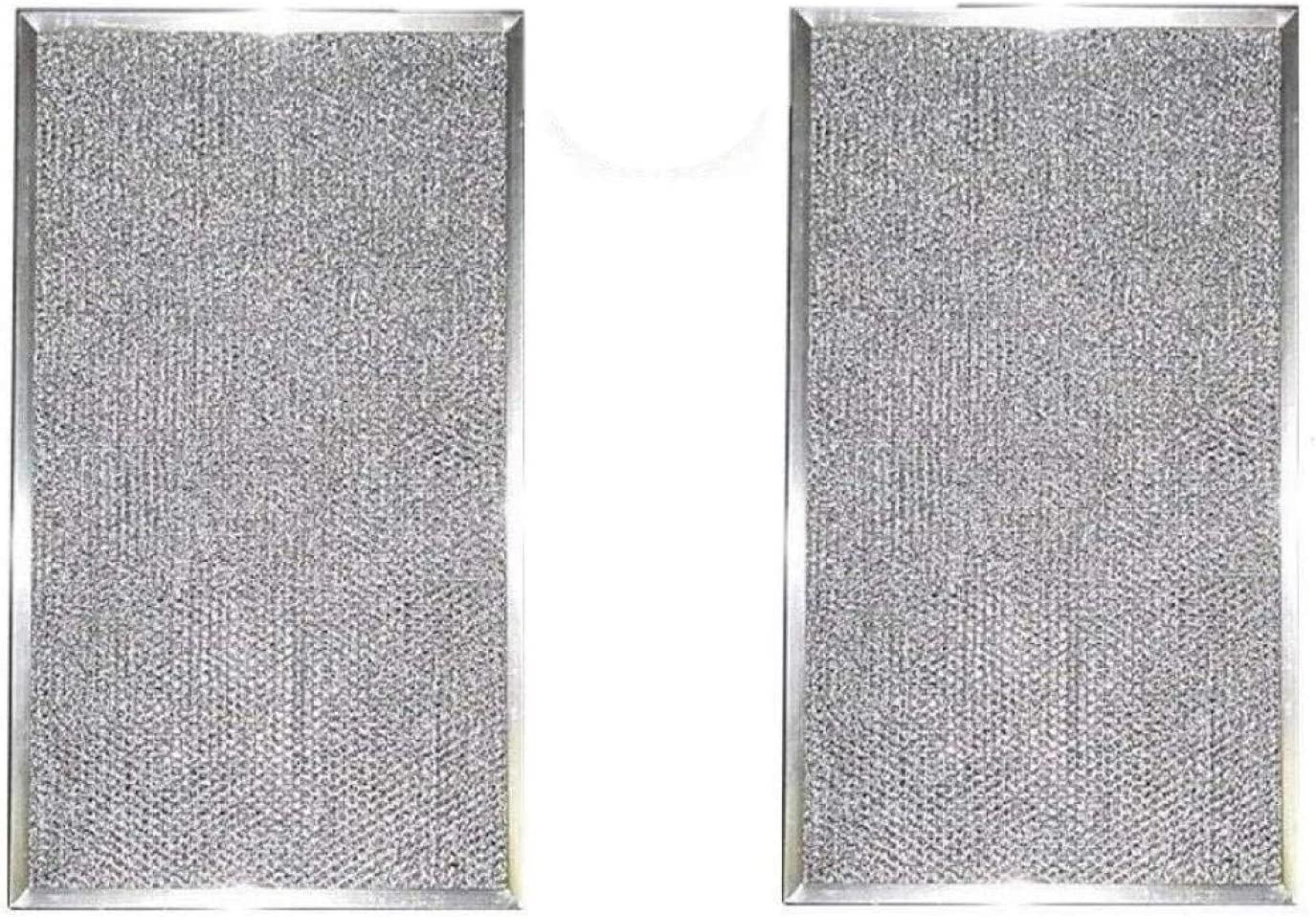 Air Filter Factory 2 Pack Compatible Replacement For Honeywell 203369 HVAC Furnace Aluminum Pre/Post Filters