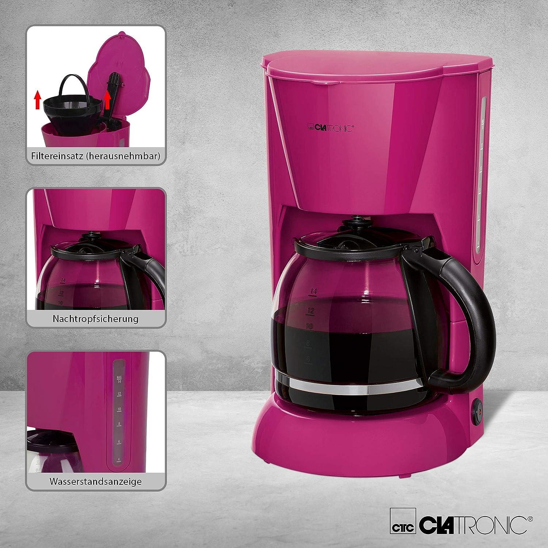 Clatronic KA 3473 Cafetera eléctrica de goteo automática, máquina ...