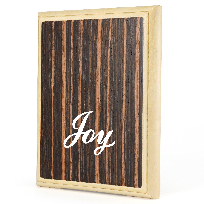 Joy 101 Pad Series Cajon with veined Ebony Tapping & Birch Wood Body, Mini (JOY101)
