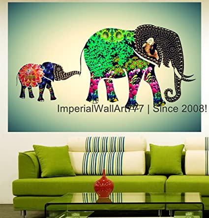 highest quality wall decal sticker African Panorama