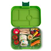 Yumbox Original Leakproof Bento Lunch Box Container for Kids (Avocado Green)