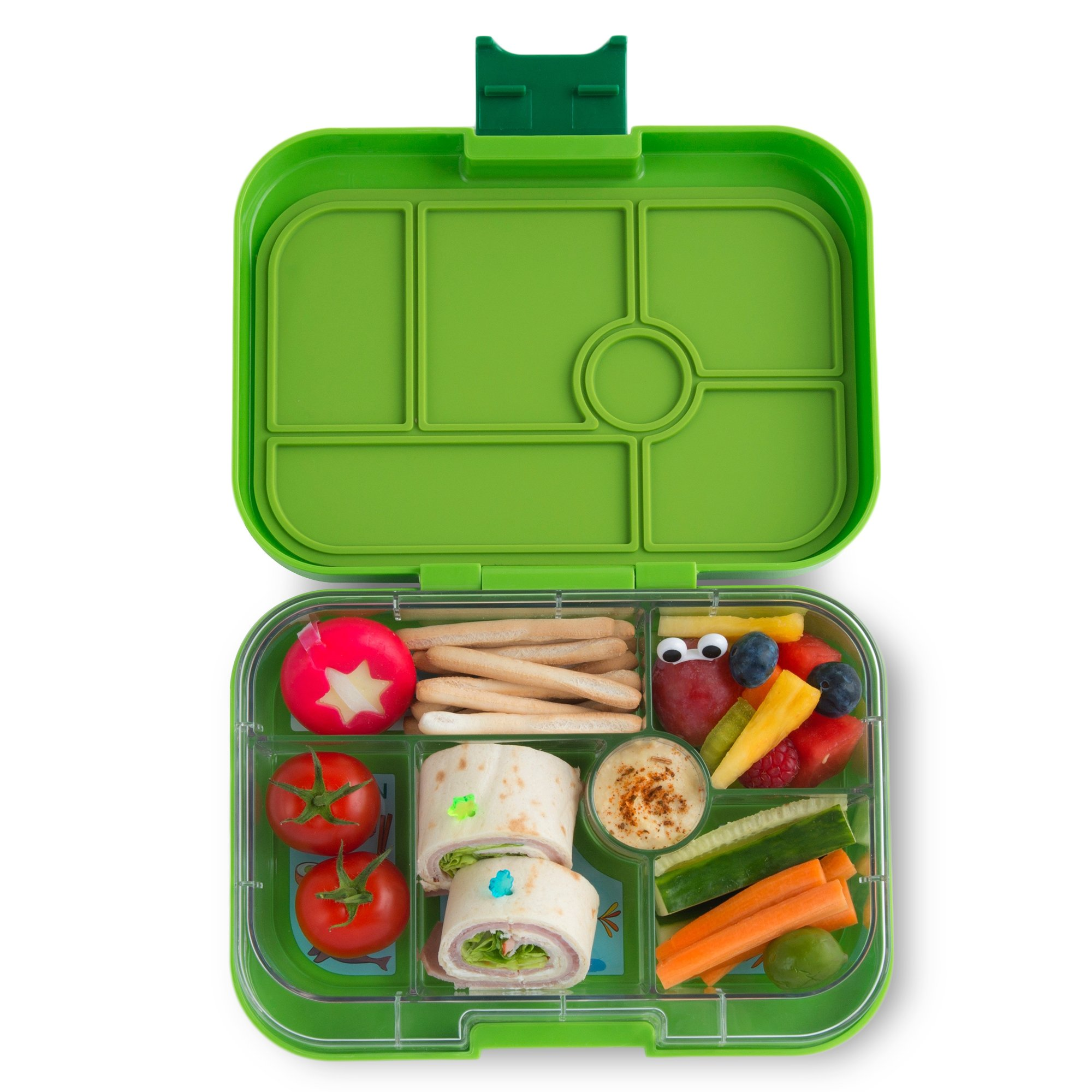 YUMBOX Original (Avocado Green) Leakproof Bento Lunch Box Container for Kids: Bento-style lunch box offers Durable, Leak-proof, On-the-go Meal and Snack Packing by Yumbox (Image #1)
