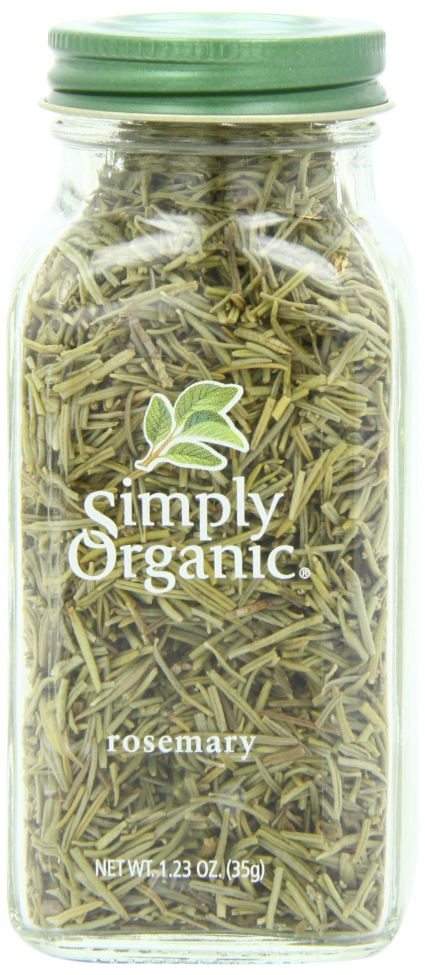 Simply Organic Rosemary Leaf Whole Certified Organic, 1.23-Ounce Container by Simply Organic (Image #1)