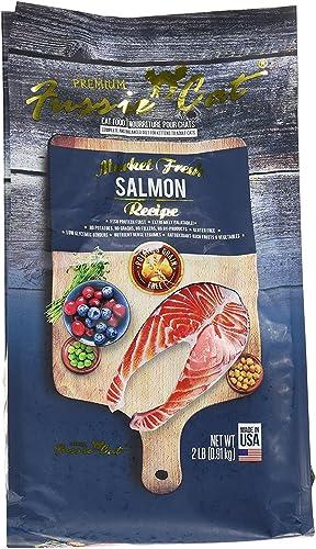 Fussie Cat Market Fresh Salmon Recipe Dry Cat Food, 2 lb. Bag. Fast
