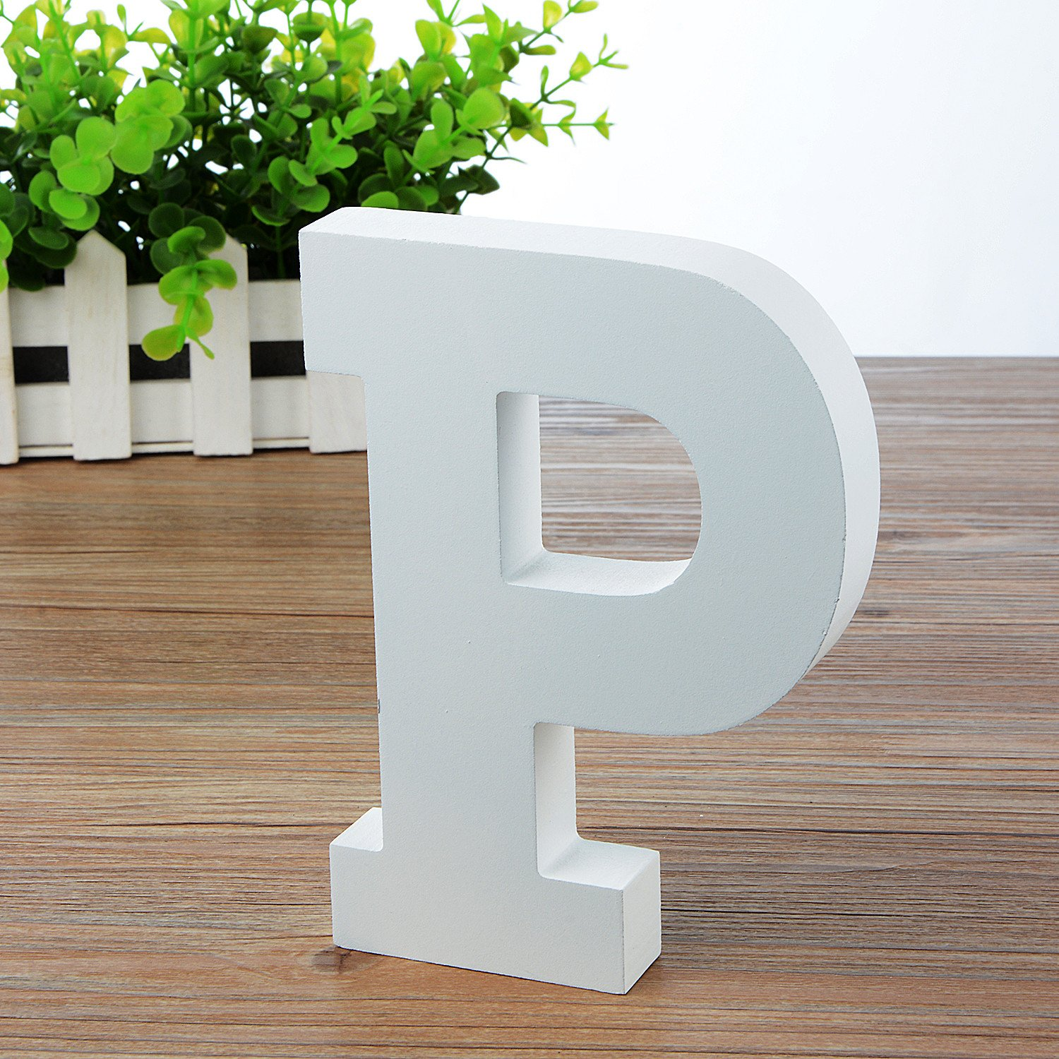 Baby Name and Girls Bedroom D/écor Wooden Hanging Wall Letters /& White Decorative Wall Letter for Childrens Nursery Babys Room