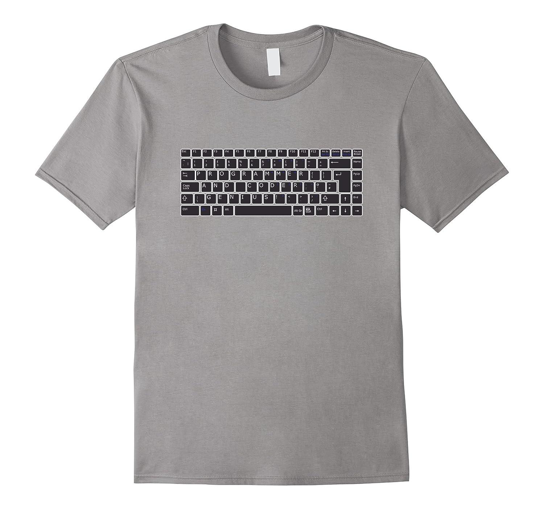 Fun T-shirt for Computer Software Programmer Genius-TH