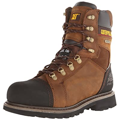 Caterpillar Men's Tracklayer 8 Inch Steel Toe Work Boot | Industrial & Construction Boots