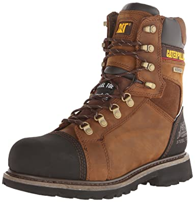 873037ec74b Caterpillar Men's Tracklayer 8 Inch Steel Toe Work Boot