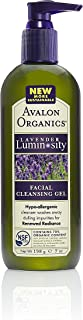 product image for Avalon Organics Lavender Luminosity Facial Cleansing Gel, 7 Ounce Bottle
