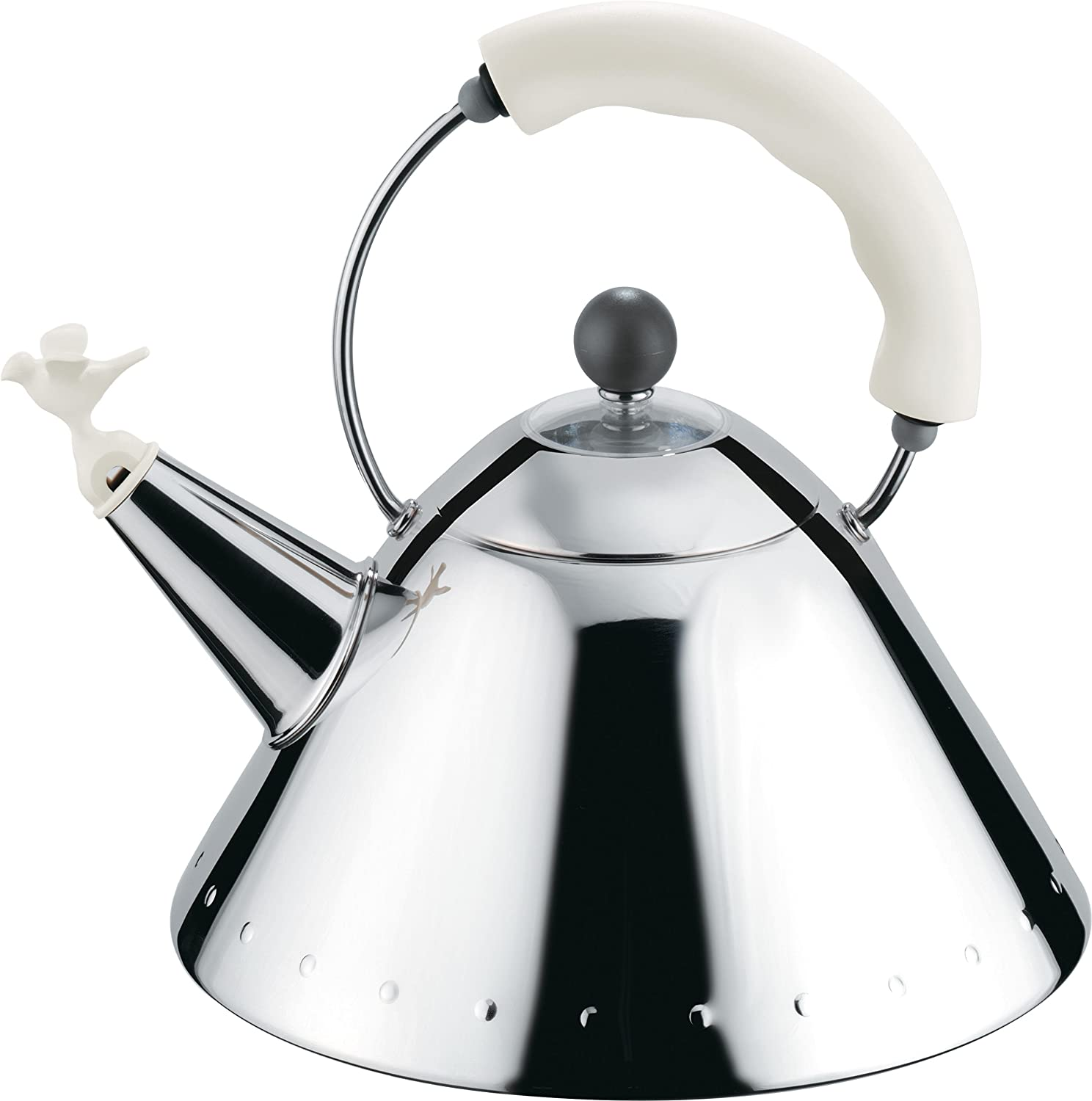 Alessi Blue Bird Whistle Hob Kettle Michael Graves 9093 alessi bird alessi bird kettle