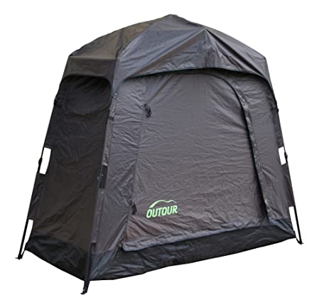 OUTOUR Quick Set Up Pop Up Heavy Duty Storage Tent Bike Tent Bicycle Tent Space Saving  sc 1 st  Amazon.com & Amazon.com: OUTOUR Quick Set Up Pop Up Heavy Duty Storage Tent ...
