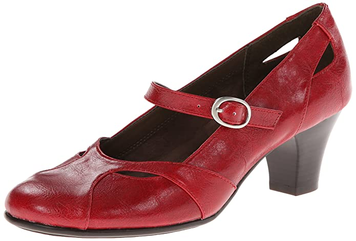 Retro & Vintage Style Shoes  Marimba Dress Pump $52.43 AT vintagedancer.com