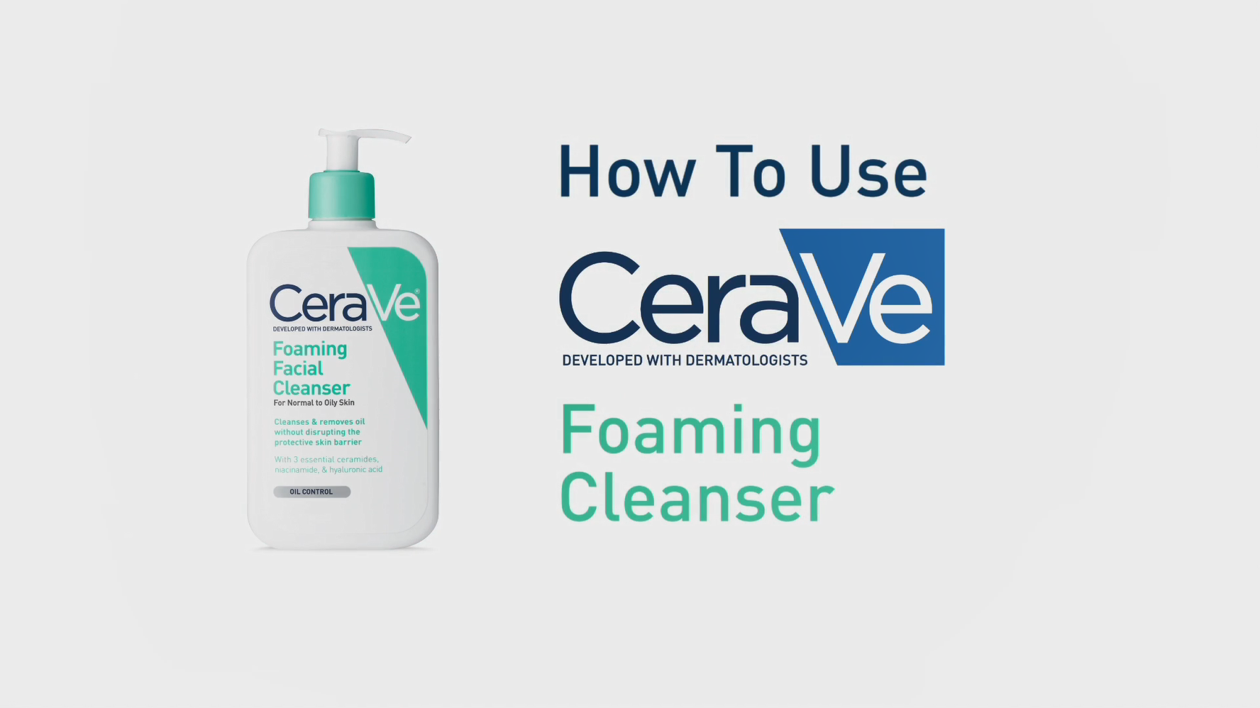 CeraVe Foaming Facial Cleanser | Makeup Remover and Daily Face Wash for Oily Skin | 16 Fluid Ounce 7