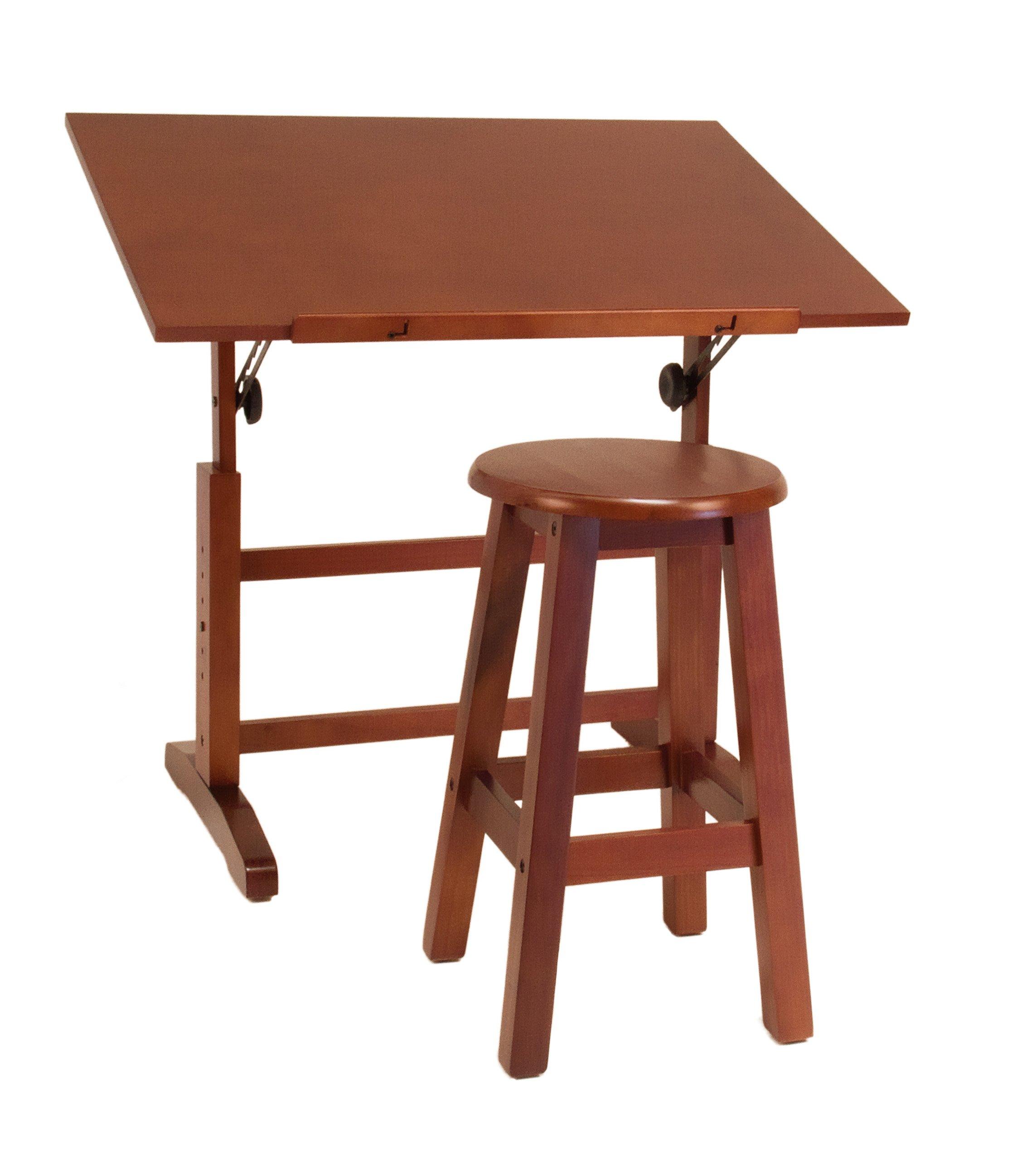 Studio Designs 13257 Creative Table and Stool Set, Walnut by Studio Designs