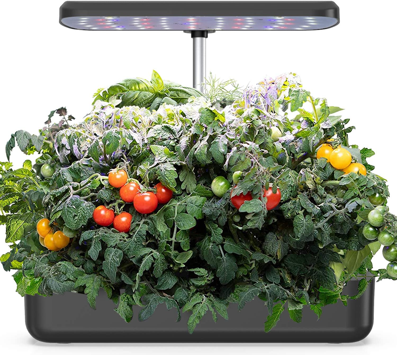 Blaward Hydroponics Growing System, Indoor Herb Garden Starter Kit with LED Grow Light, Smart Garden Planter, Germination Kit, for Home Kitchen Gardening Height Adjustable (10 Pots)
