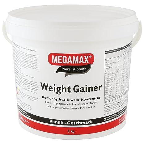 MEGAMAX - Weight Gainer - Suplemento para ganar peso y masa ...