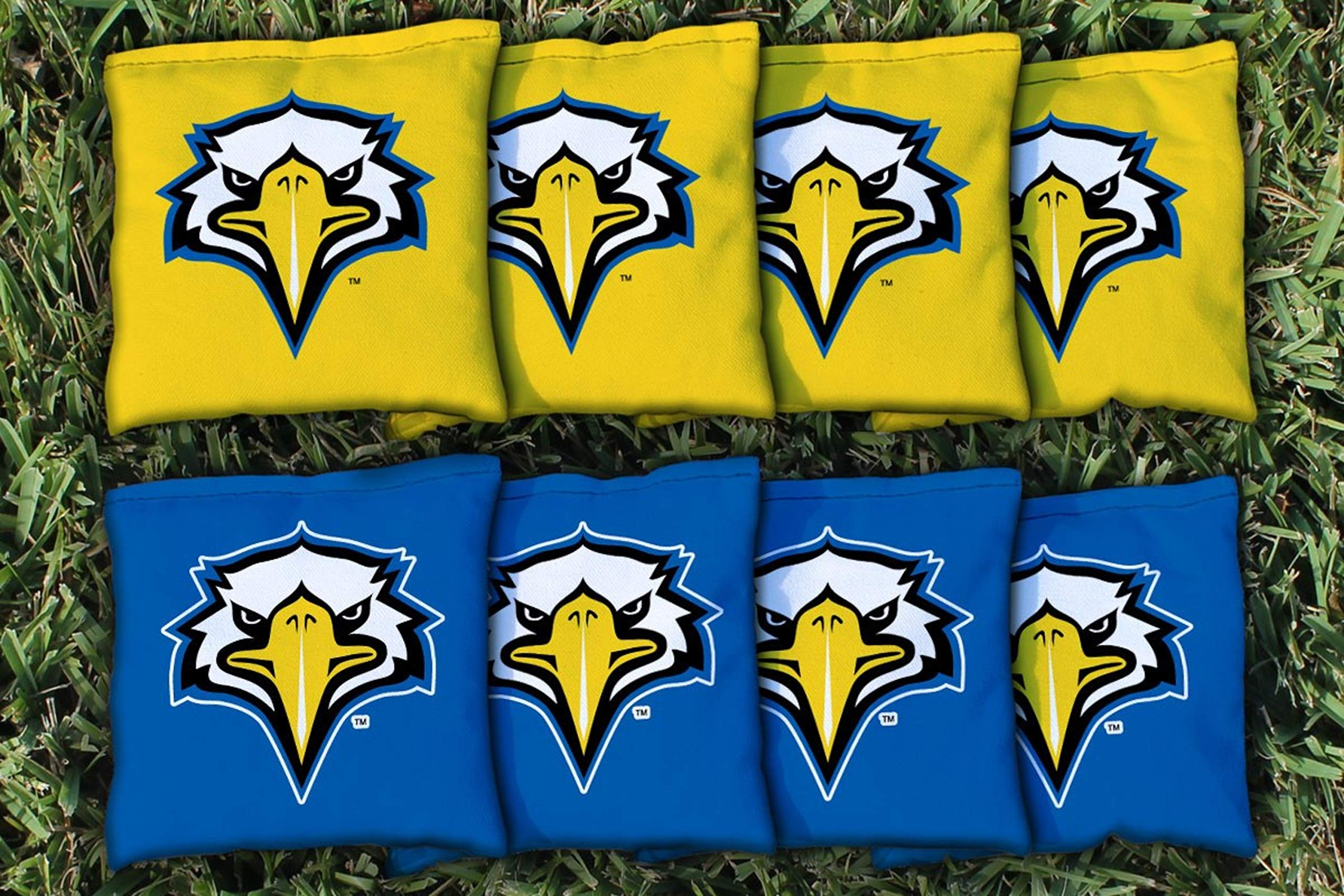 Victory Tailgate NCAA Collegiate Regulation Cornhole Game Bag Set (8 Bags Included, Corn-Filled) - Morehead State Eagles by Victory Tailgate