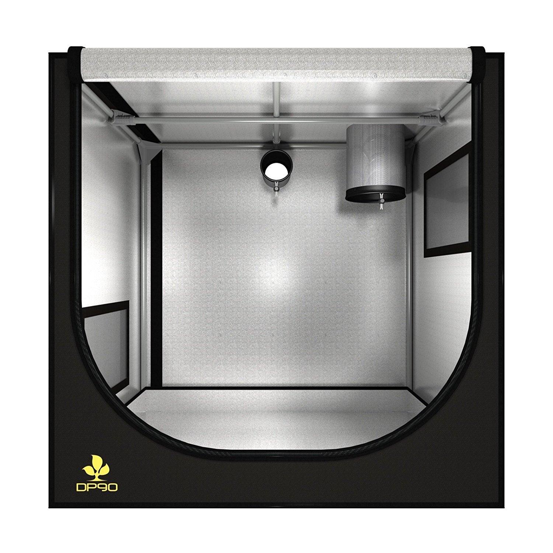 Growbox Growzelt Grow Box Dark Propagator DP90 REV 2.6 Secret Jardin 90x60x90cm