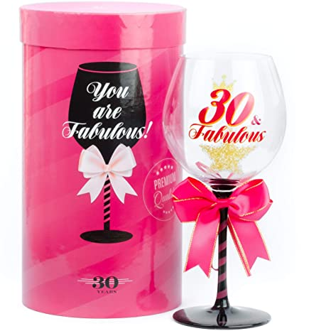 30 Fabulous Birthday Wine Glass For Women