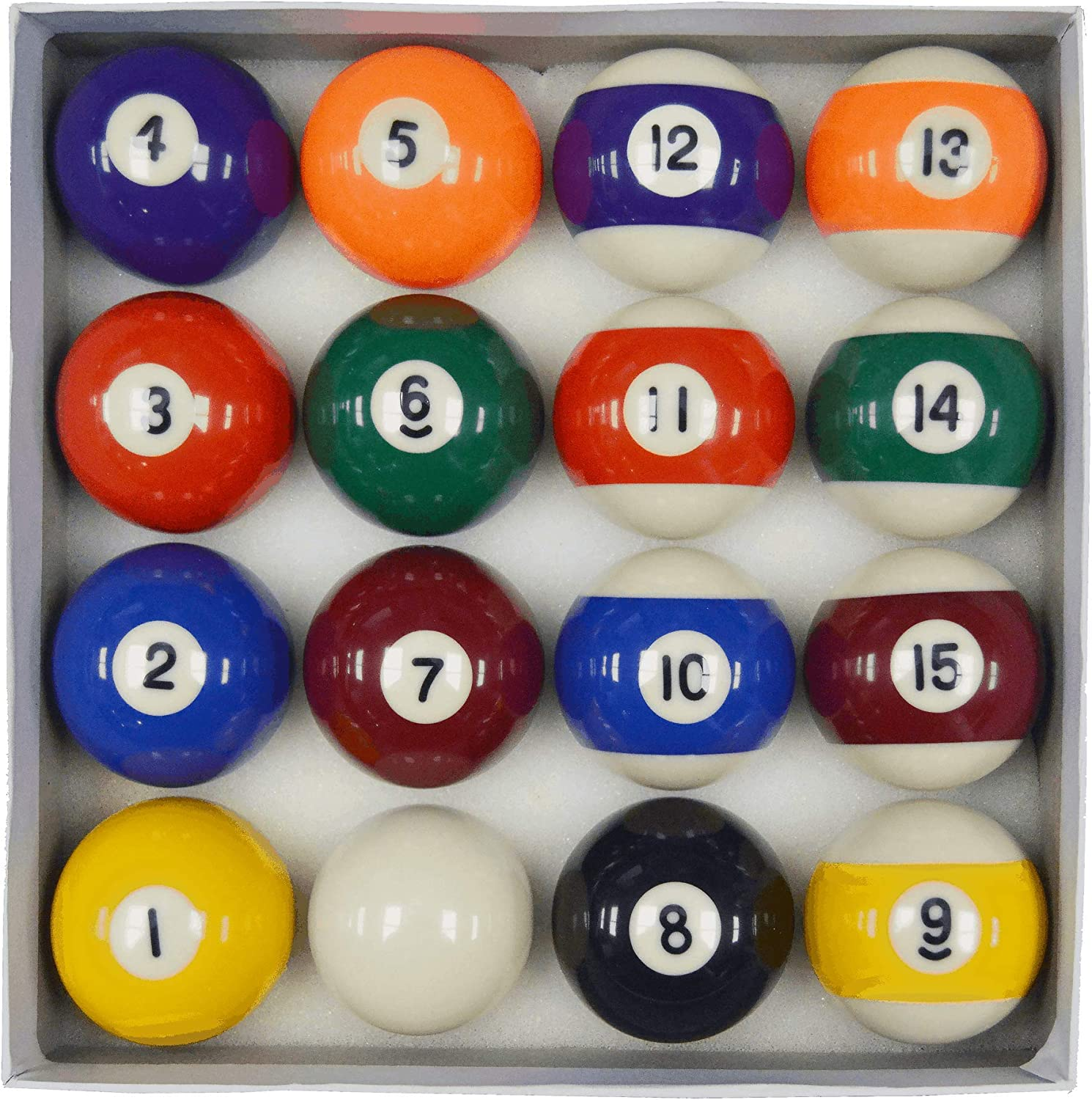 Homegames Spots and Stripes Pool Table Ball Set UK 2 Competition by Competition: Amazon.es: Deportes y aire libre