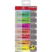 Surligneur - STABILO BOSS ORIGINAL - Pochette de 8 surligneurs - Coloris assortis