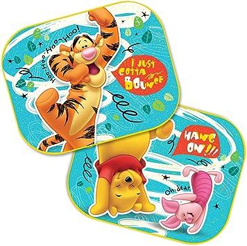 Disney Pixar Side Car Sun shade X2 Winnie The Pooh UV Protection for Children