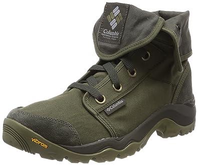 Homme Chaussures Casual, Camden Chukka, Vert (Nori Grey), Pointure: 48Columbia