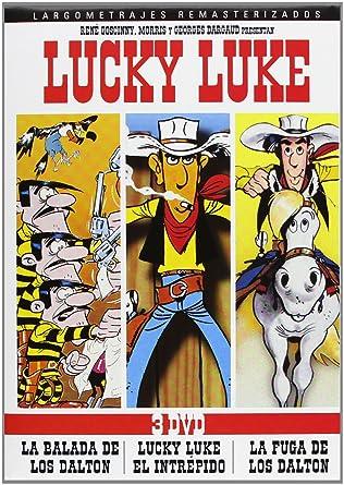 Pack Lucky Luke. Las Películas [DVD]: Amazon.es: Cine y Series TV