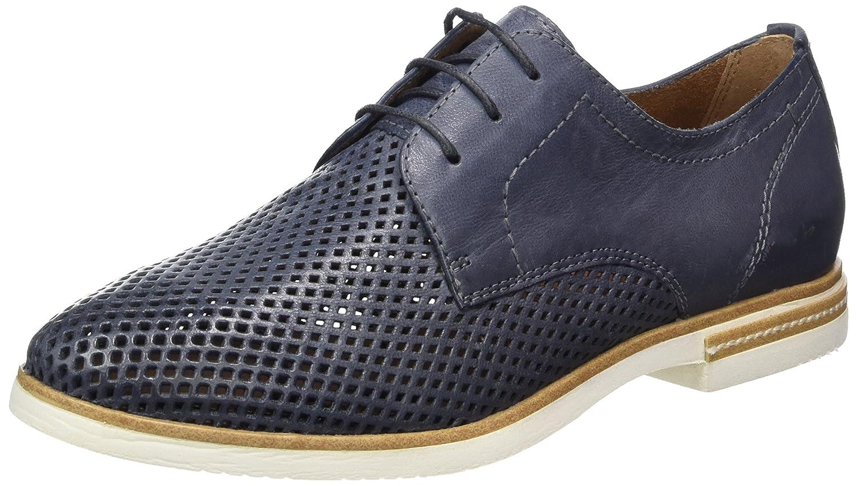 Tamaris 23207, Zapatos de Cordones Oxford para Mujer 41 EU|Azul (Navy 805)