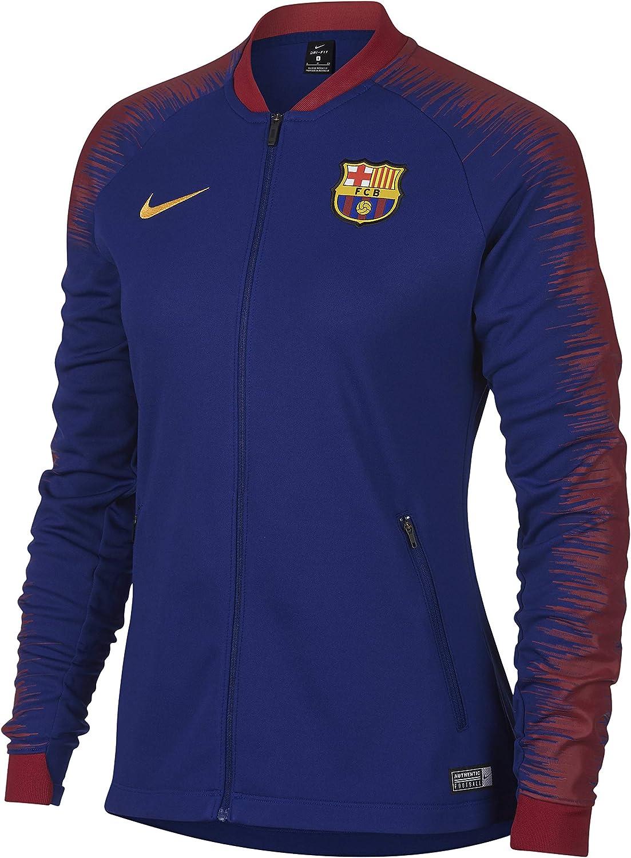 Nike FC Barcelona Anthem Chaqueta de Entrenamiento: Amazon.es ...