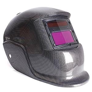 795968a51be80f masque de soudure – TOOGOO(R)Masque De Soudure Cagoule Casque Soudage  Solaire Automatique(Utiliser Energie Solaire pour Recharge)Accessoire de  Protection de ...