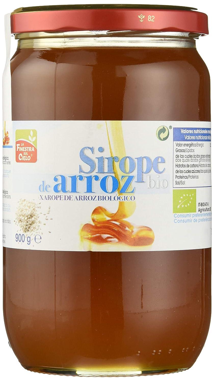 Sirope de arroz ecológico - La Finestra sul Cielo - caja de 4 uds de 900 gr. (Total 3600 gr.): Amazon.es: Alimentación y bebidas