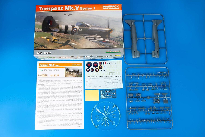 Amazon.com: EDU82121 Eduard Tempest Mk.V Series 1 ProfiPACK ...