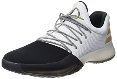 431960845faa adidas Harden Vol 1 Mens Basketball Sneakers Shoes-White-14.5