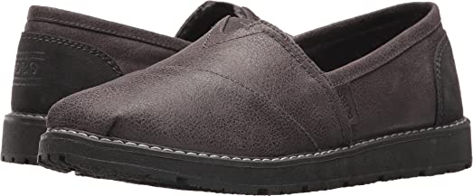 Skechers BOBS Women's BOBS Alpine - Winter Thread Charcoal 5 ...