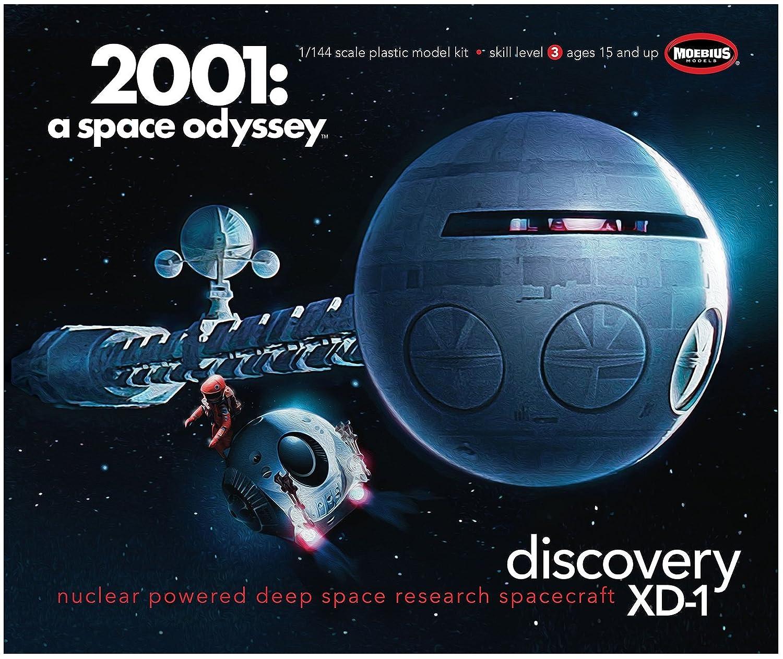 メビウス 2001年宇宙の旅 1/144 ディスカバリー号 B0734BZ3C5