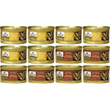 Nutro Max Cat Canned Kitten Food 2 Flavor Variety Bundle: (6) Chicken & Ocean Fish Formula and (6) Chicken & Liver Formula, 3 Oz Each (12 Cans Total)