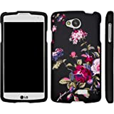 LG Optimus F60 Case, LG Transpyre Case, Slim Fit Snap On Cover with Unique, Customized Design for LG Transpyre VS810PP, LG Tribute LS660, LG Optimus F60 (Verizon, Virgin Mobile, MetroPCS) from MINITURTLE   Includes Clear Screen Protector and Stylus Pen - Delicate Flowers