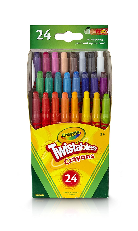 Crayola 24 Mini Twistables 3000002682