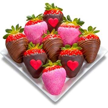 Amazon Com Golden State Fruit 9 Piece Love Bites Valentine