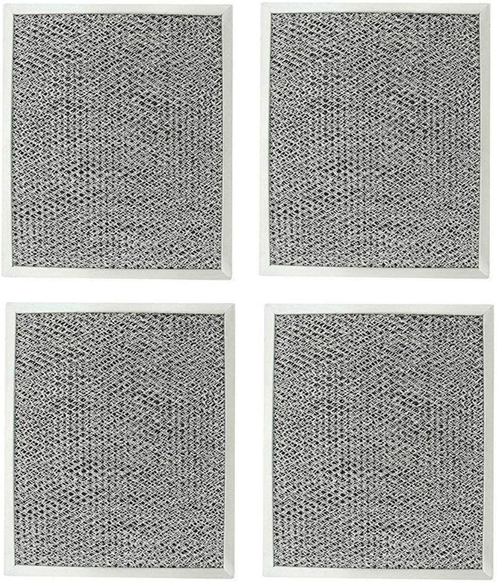 Kitchen Basics 101 Aluminum Hood Vent Filter 4 pack 97006931 Replacement for Broan Nutone BP29