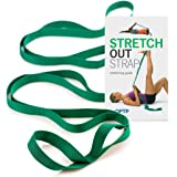 The Original Stretch Out Strap with Exercise Book – Made in the USA by OPTP – Top Choice of Physical Therapists & Athletic Tr