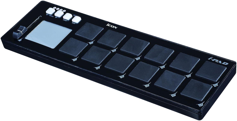 Icon i-Pad - Portable 12-Pad MIDI Controller ICOI-IPADB