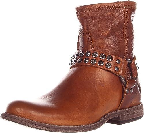 81urH Qi1VL._UX500_ amazon com frye women's phillip studded harness boot ankle & bootie