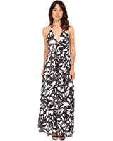 BB Dakota Womens Floral Print Sleeveless Maxi Dress
