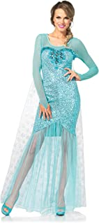 Leg Avenue Womenu0027s Fantasy Snow Queen  sc 1 st  Amazon.com & Amazon.com: Disney Disguise Womenu0027s Frozen Elsa Deluxe Costume: Clothing