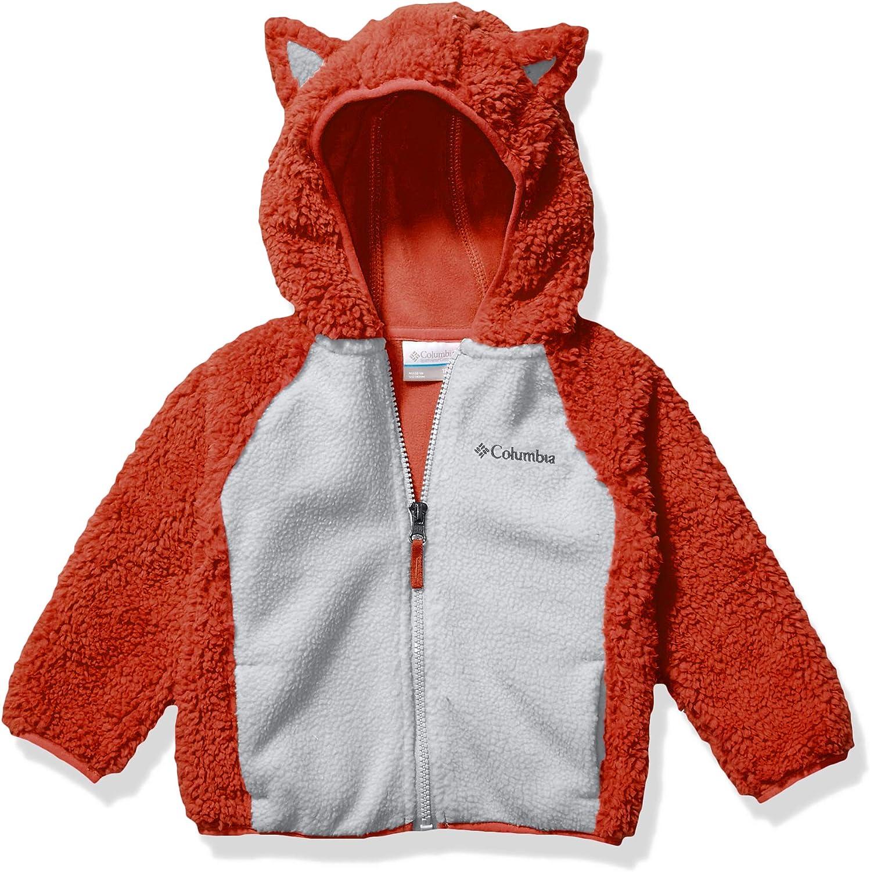 Warm /& Cozy Columbia Infant Foxy Baby Sherpa Full Zip Winter Jacket