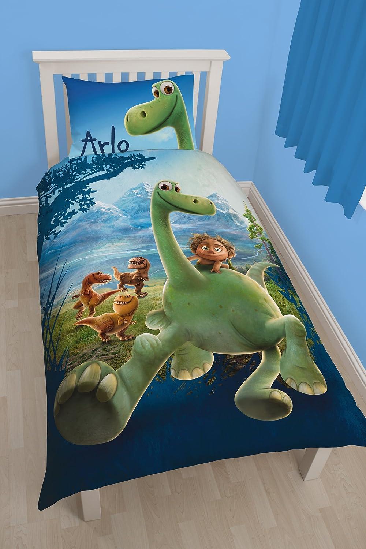 Character World Single Disney Good Dinosaur Arlo Panel Duvet Set, Multi-Colour DGDARLDS001UK1